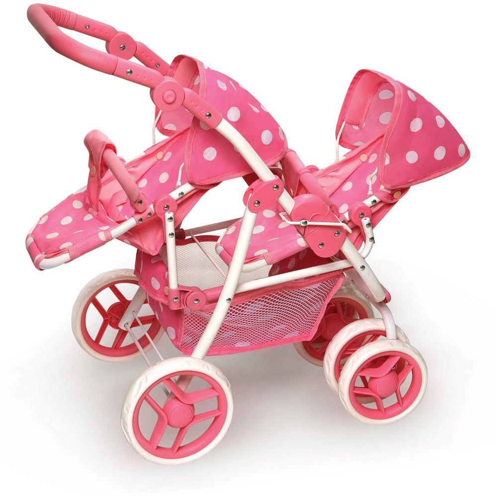 Badger Basket Reversible Double Doll Stroller Baby doll
