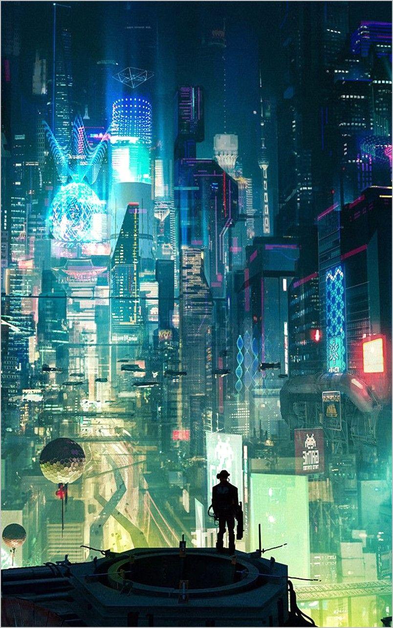 Cyberpunk Wallpaper Vertical 4k In 2020 Cyberpunk City Cyberpunk Aesthetic Futuristic Art