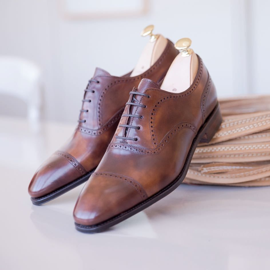 b235142736b Carmina shoemaker — Discover our brown museum oxfords available at ...