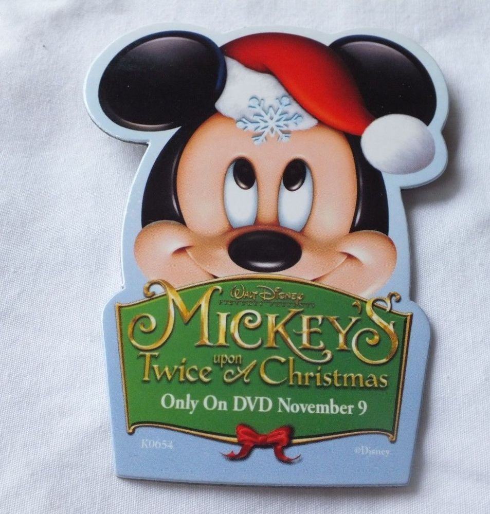 Mickey Mouse Twice Upon A Christmas Dvd.Mickey S Twice Upon A Christmas Pin Dvd Release Announcement