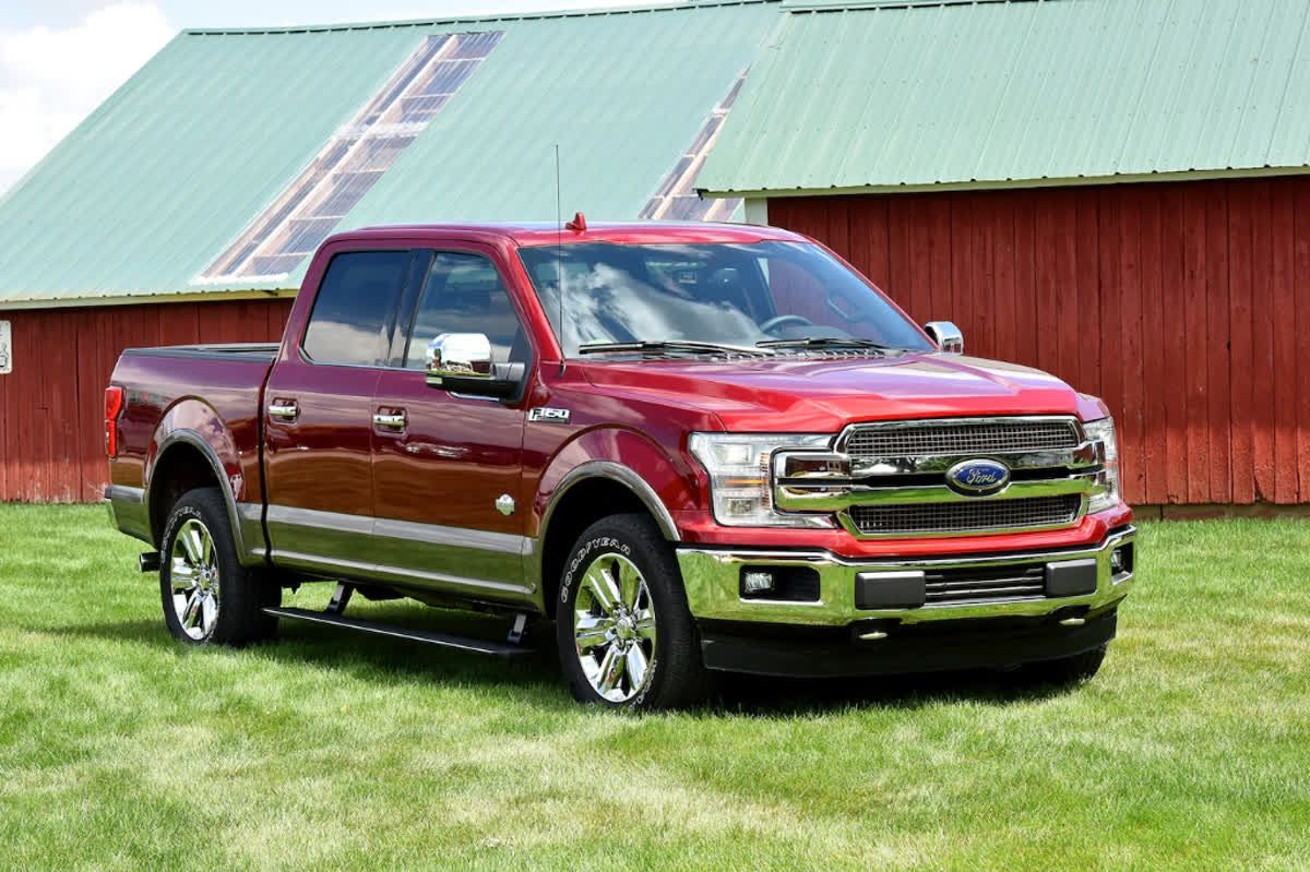 Car and Driver awarded the Ford F150 the Best Large