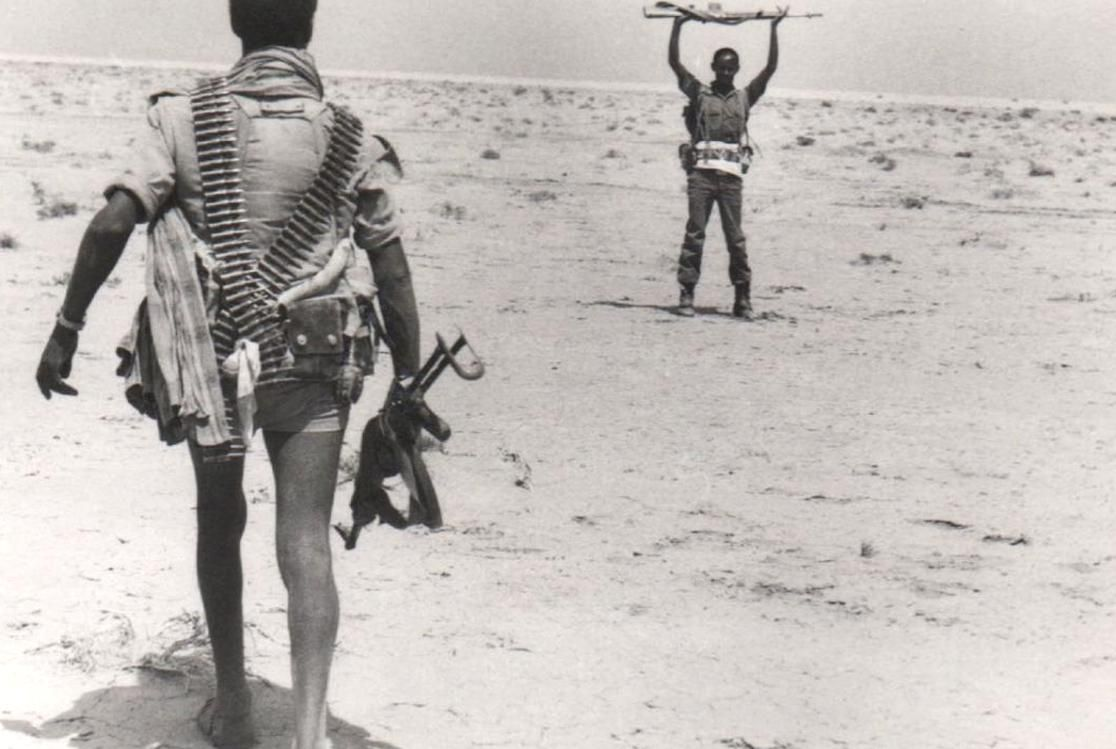 An Epla Fighter Disarms An Ethiopian Soldier In 2020 Eritrea Ethiopian People African History