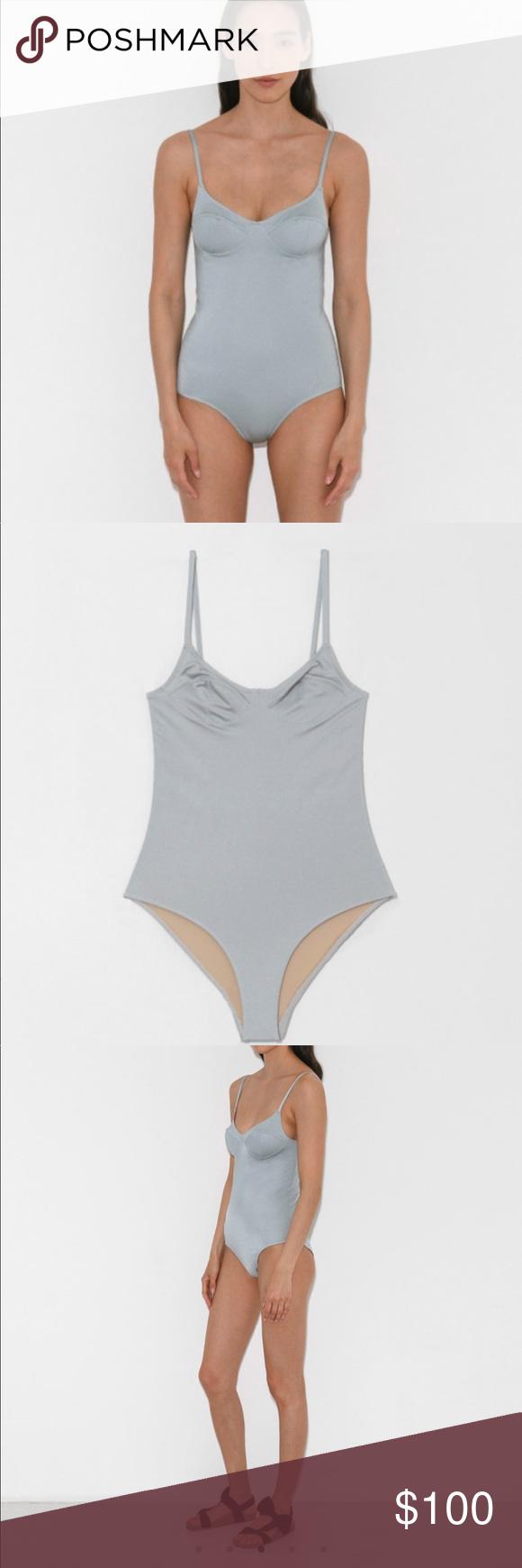 faa1b8dfbfb Baserange Swimsuit⚡ ⚡ Baserange Soft Swimsuit in Rio Blue. One piece  swimsuit