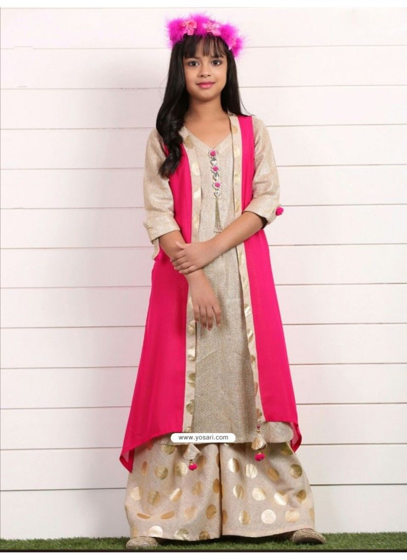 Stunning Pink Georgette Dress Model: YOG346