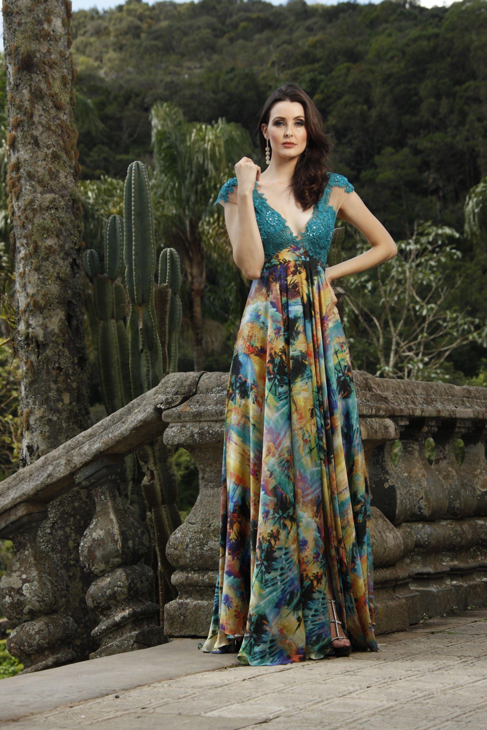 af4c80d49 vestido longo estampado - Pesquisa Google | vestidos | Dresses ...