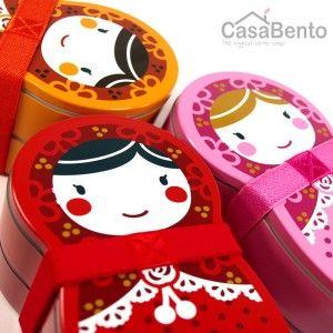 Matrjoschka-Puppe Bento-Box - Rosa                                                                                                                                                                                 Mehr