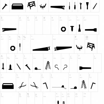 Tool Font Free Scrapbooking Font Font Free Fonts And Scrapbooking