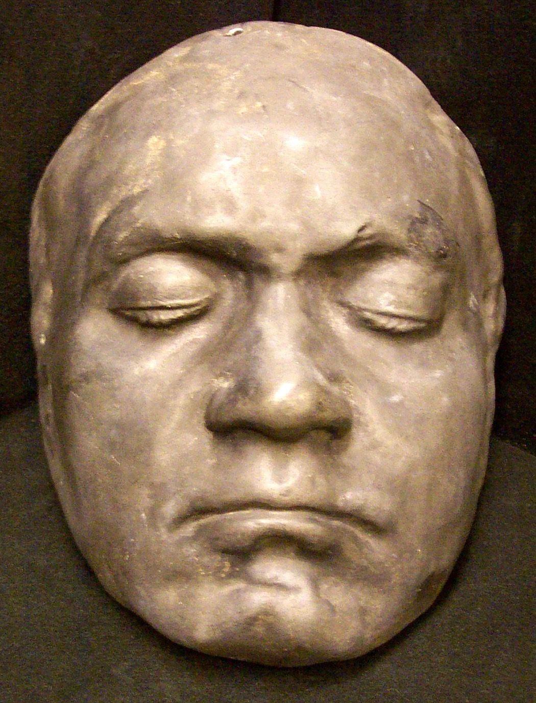 Beethoven's life mask, Princeton University
