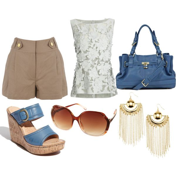 Casual with a little fun!, created by fuentes3 on Polyvore