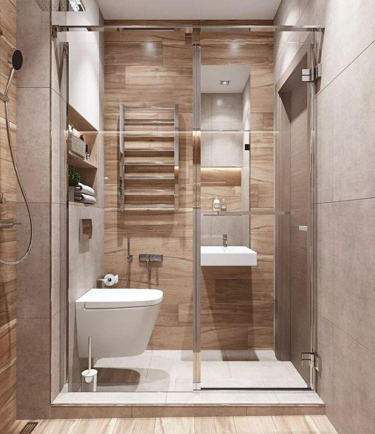 So können Sie ein Gäste WC mit Dusche selbst bei wenig ...