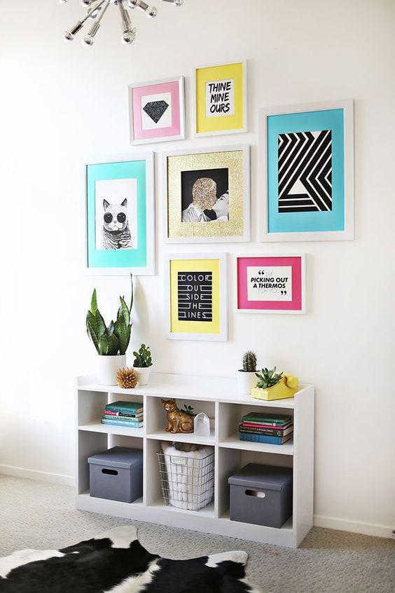 33 ideas para decorar paredes Interiors, Ideas para and Plank - muebles de pared