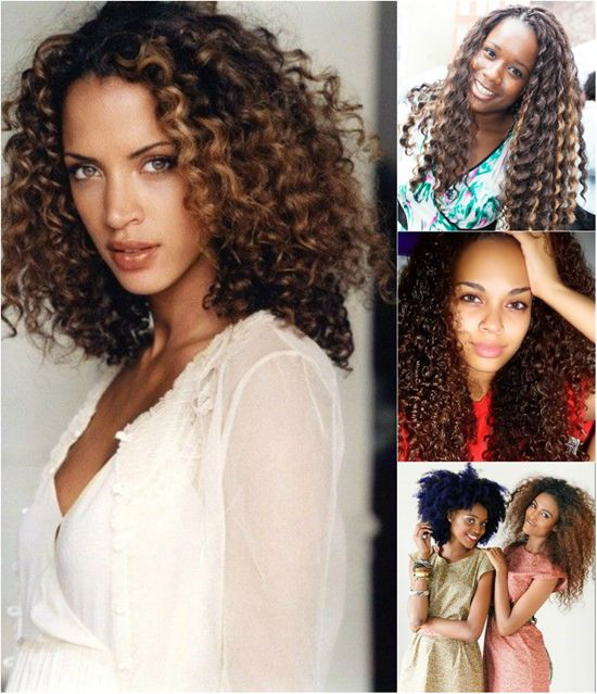 Top 6 Fashion And Trend Curly Hair Styles For Black Women Ombre