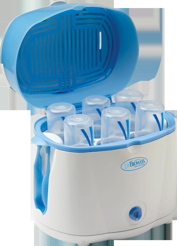 62fd566e8333 Dr. Brown s Deluxe Bottle Sterilizer  Electric Steam Sterilizer System   Safely steam sterilizes 6 BOTTLES in 12 MINUTES!