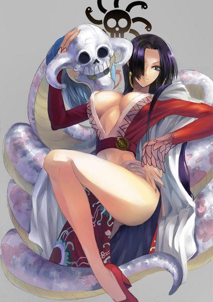 Boa Hancock Boahancock Pirate Empress Onepice One Piece Hot Sexy Animegirl Anime Girl Fanart