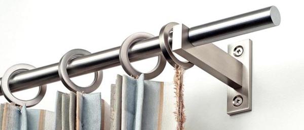 Mira Stainless Steel Curtain Rod