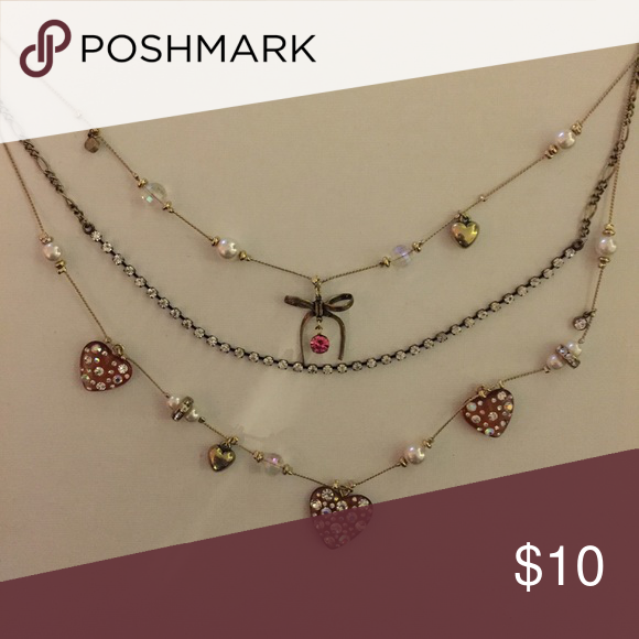 Betsey Johnson Heart Necklace Betsey Johnson Heart Necklace!💖 Betsey Johnson Jewelry Necklaces