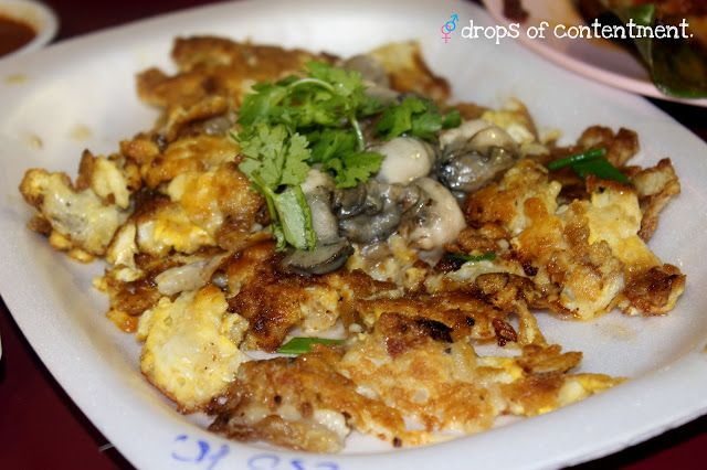 A simple oyster omelette another hawker favourite aint nothin food forumfinder Images