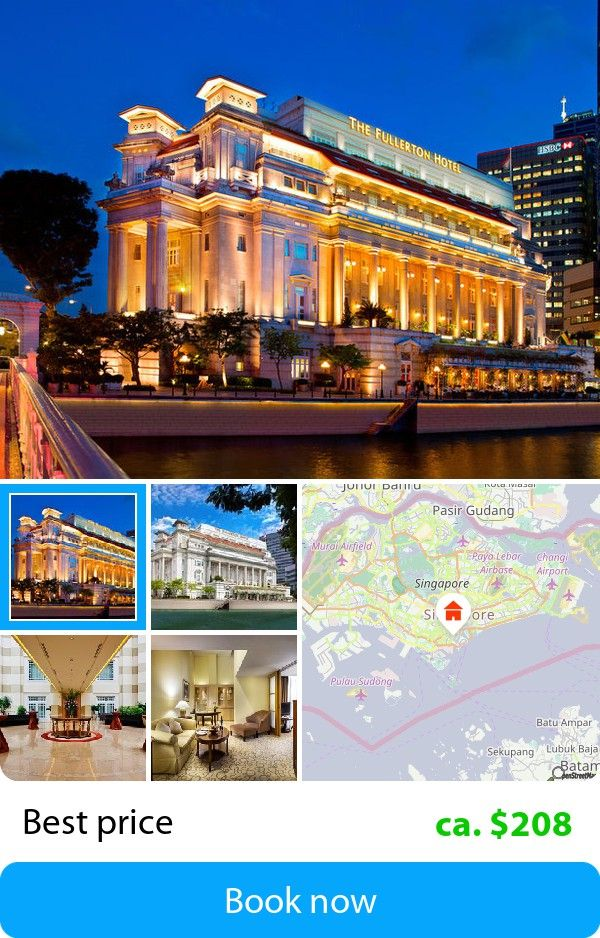 The Fullerton Hotel Singapore (Singapore, Singapore) – Book this hotel at the cheapest price on sefibo.