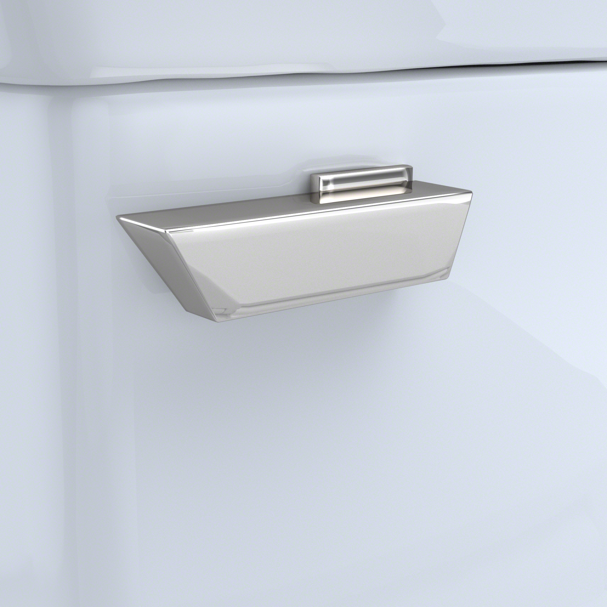 Photo of Trip Lever- Polished Nickel for Soiree Toilet Tank