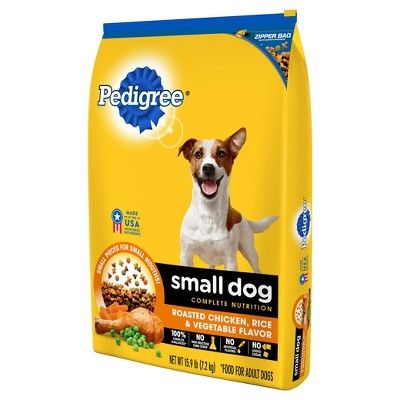 Pedigree Adult Small Dog Targeted Nutrition Chicken Flavor Dry Dog