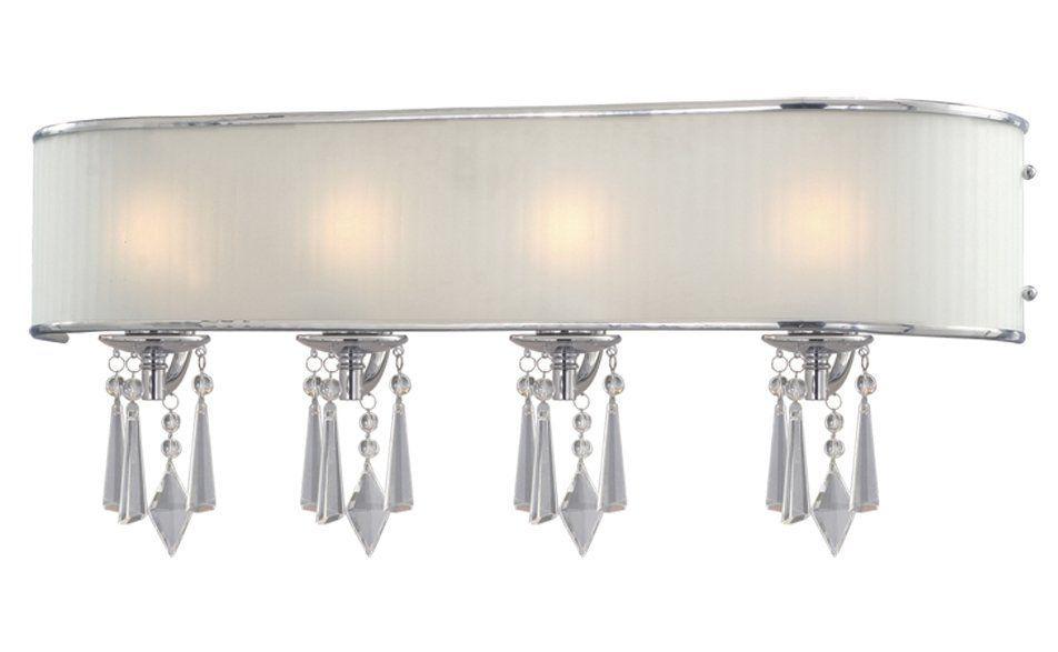 Golden Lighting Echelon 4-Light Vanity - Floor Sample on Clearance GL-8981-BA4-BRI-store