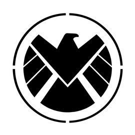 Shield Logo Stencil Shield Logo Logos Agents Of Shield
