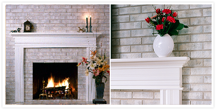 Brick Anew Treatment For Brick Fireplaces Home Improvement Pinterest Brick Fireplace