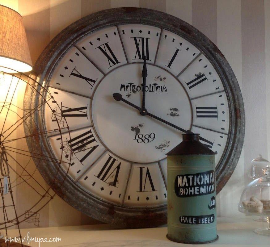 Reloj de pared Metropolitain - vilmupa | relojes | Pinterest ...