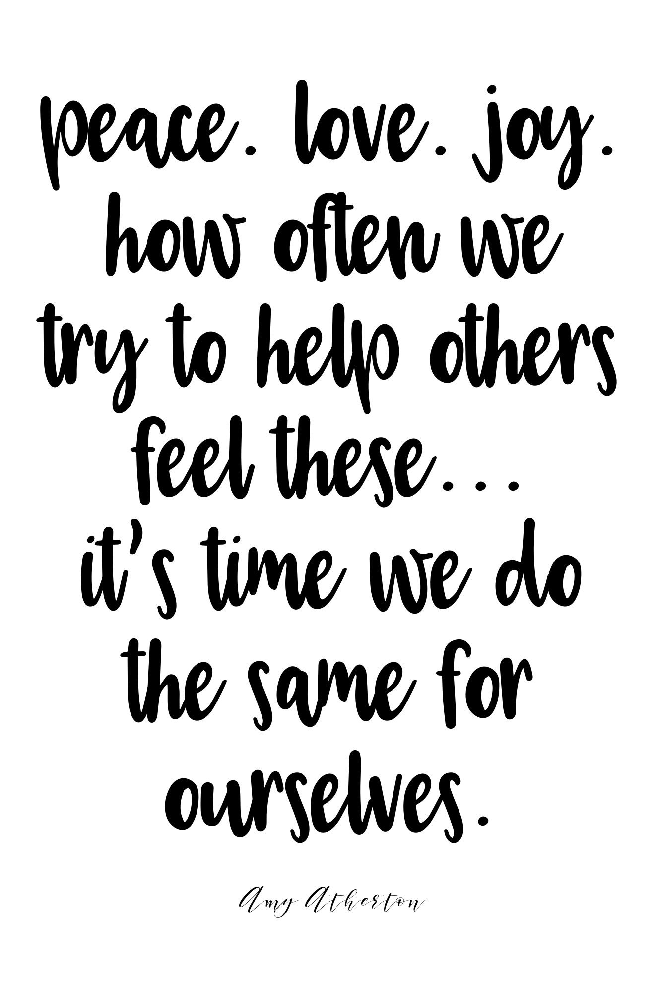 Peace Love Joy Quotes Glamorous Peacelovejoyhow Often We Try To Help Others Feel These