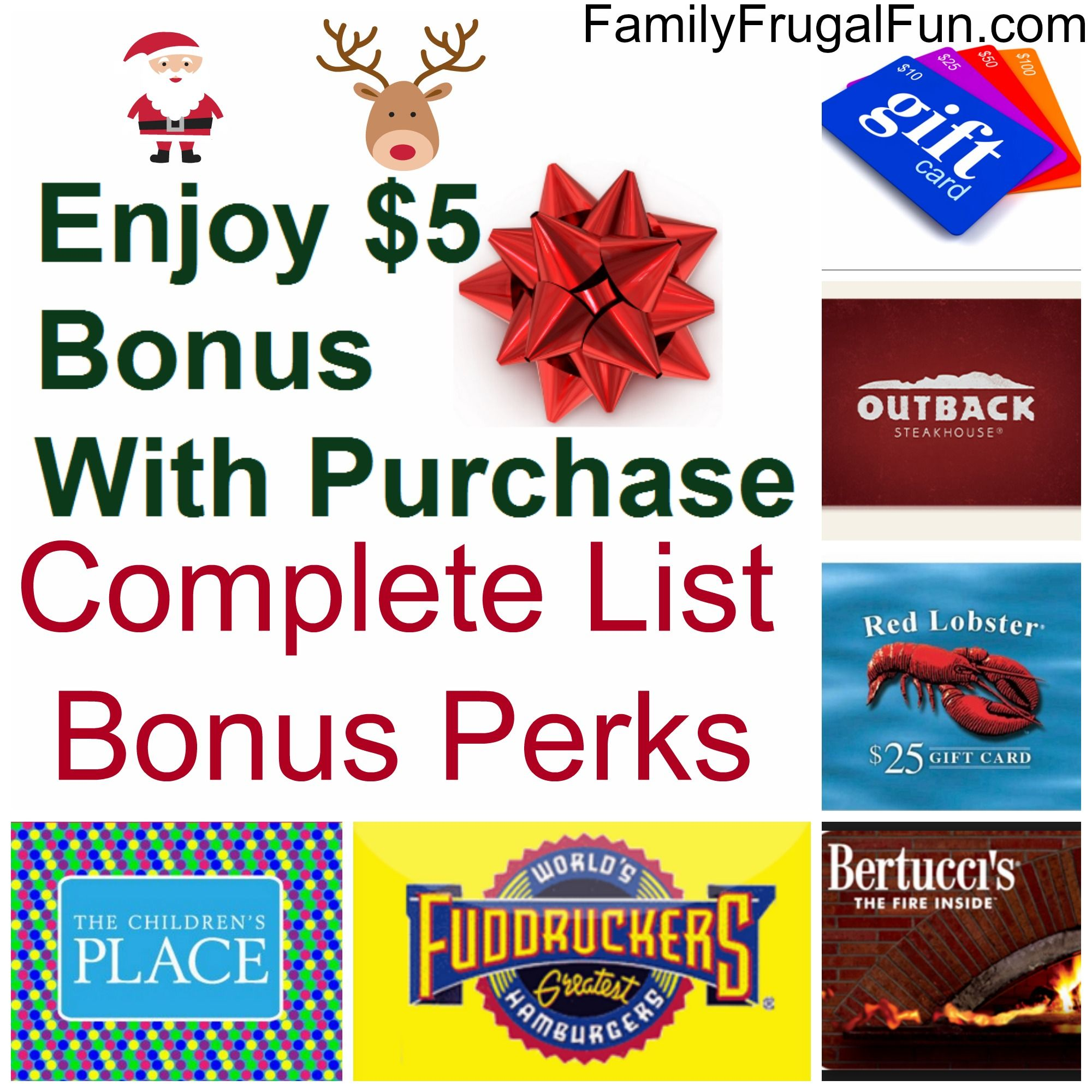 Holiday Gift Card Promotions A Complete List Of Stores Offering