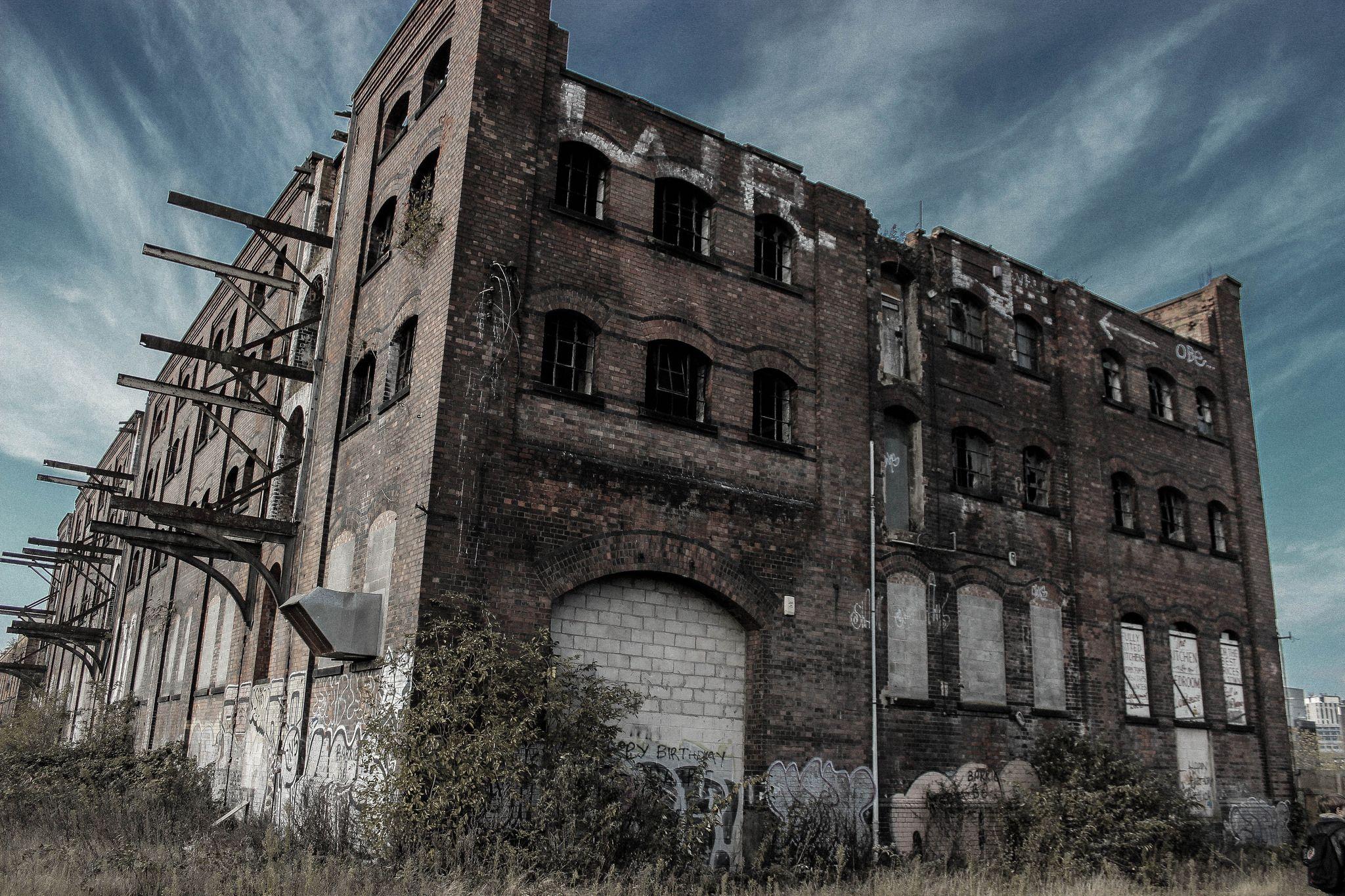 Abandoned Warehouse, Urban Decay Sneinton Nottingham
