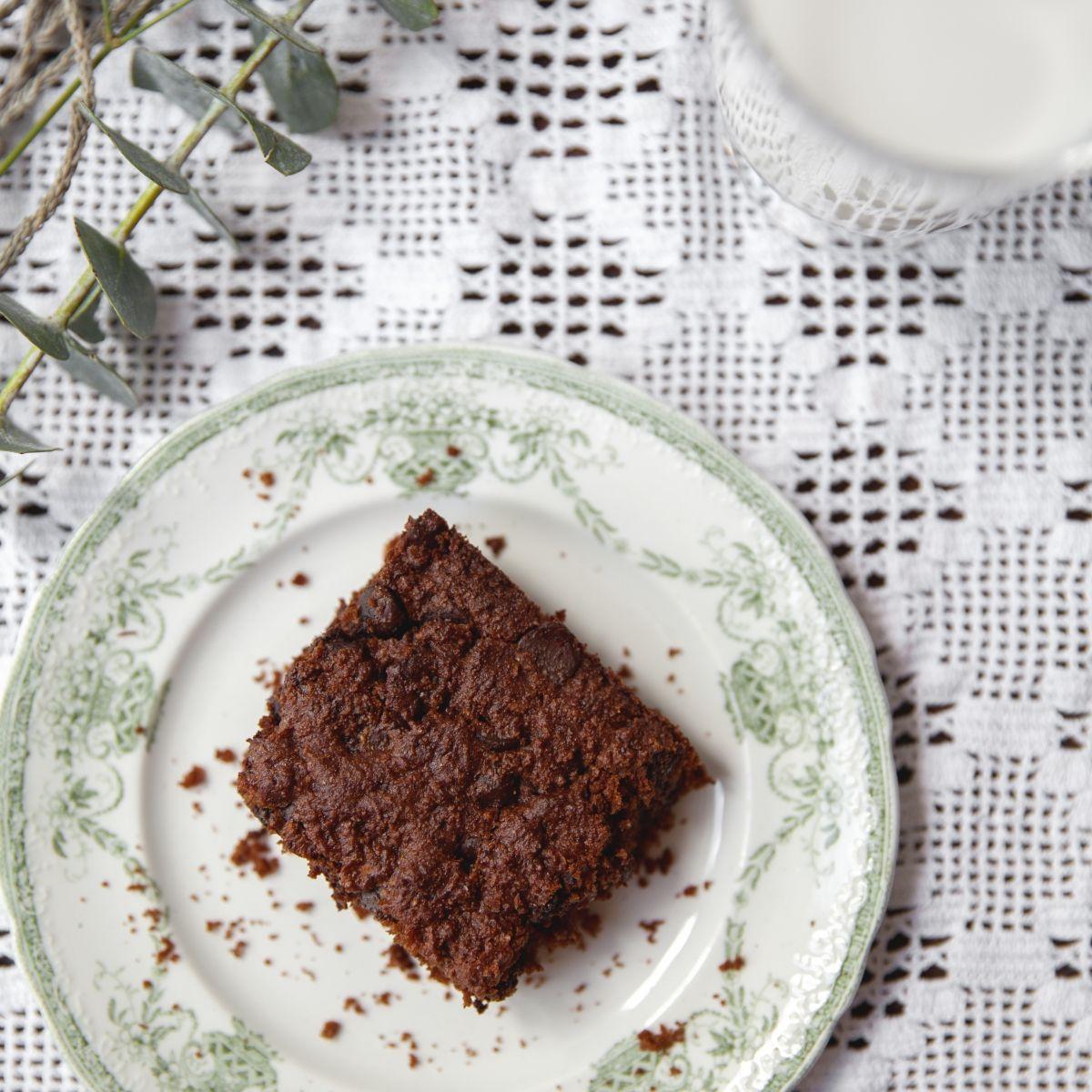 Brownie au chocolat à base de tofu - Recette | Trois fois ...