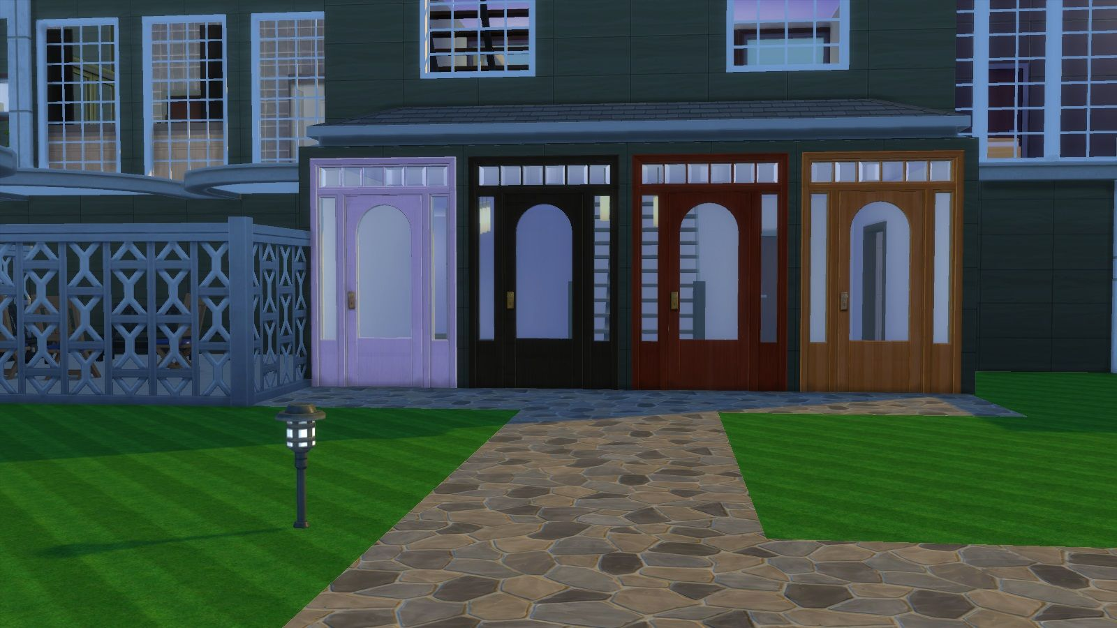 Mod The Sims - Colonial Door
