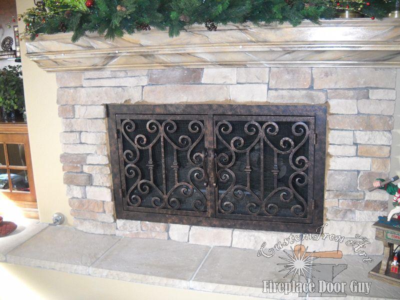 Rectangular Doors Custom Fireplace Doors In California Arizona