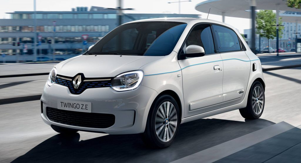 Renault Twingo Z E Debuts With Modest Range Compared To Vw