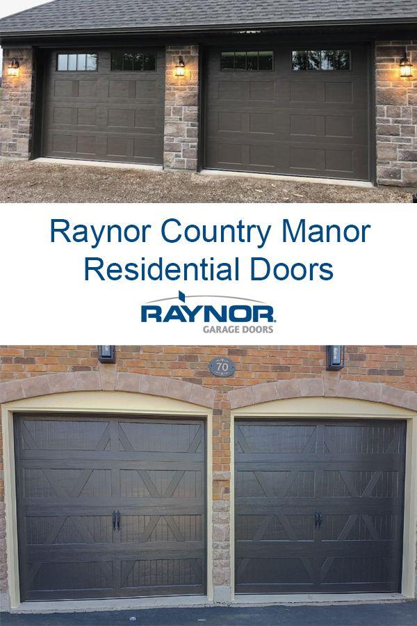 Raynor Country Manor ™ Garage Doors   Garage doors, Raynor ...
