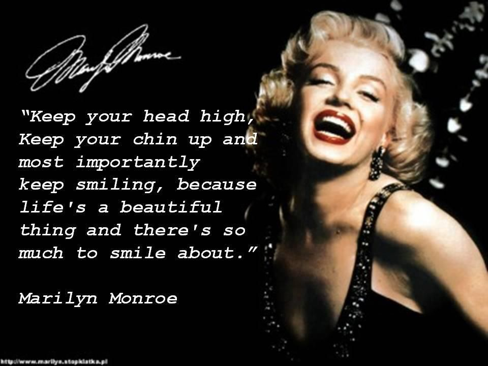 Marilyn Monroe Was Such A Great Actress A Intelligent Lady She Is A
