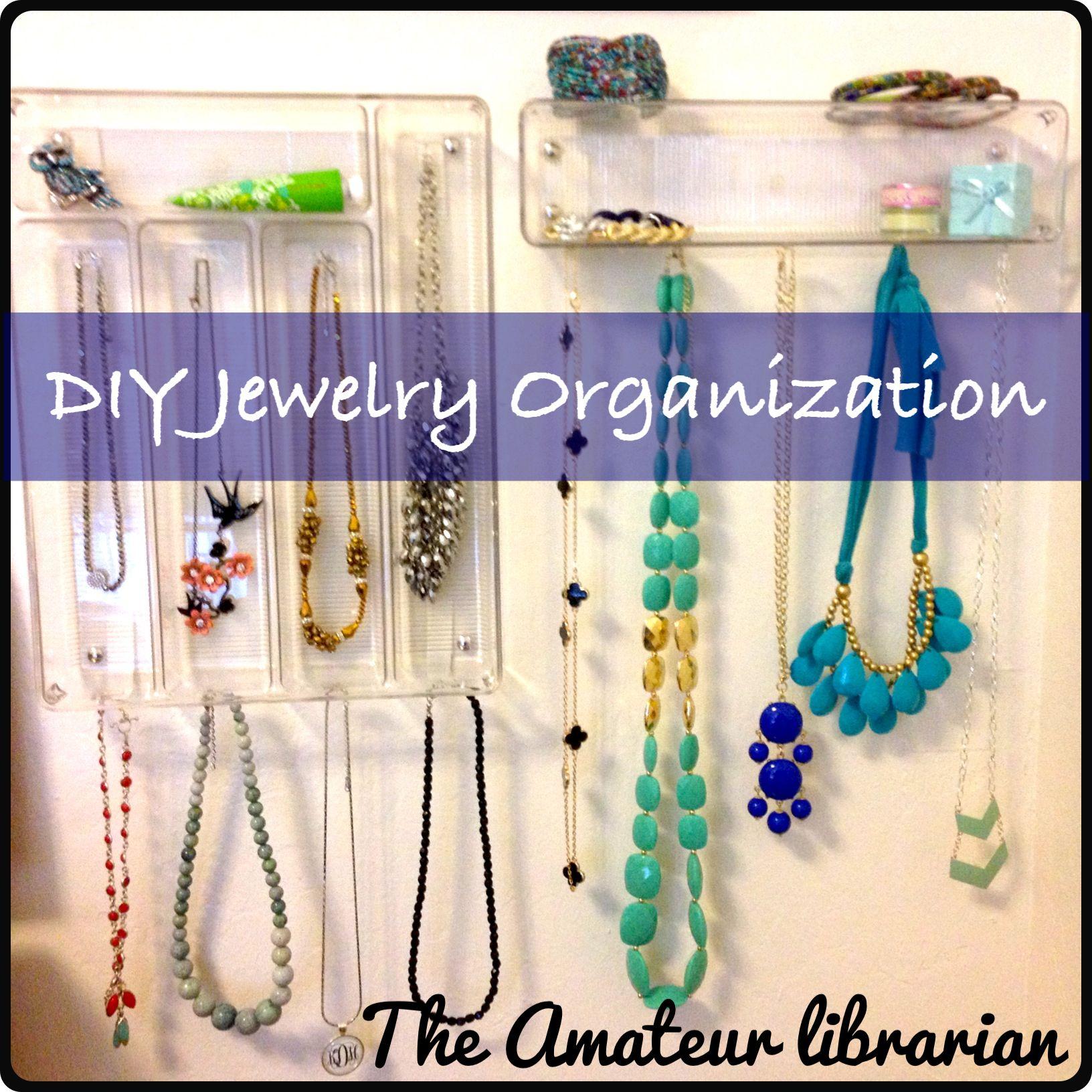 plastic silverware tray jewelry organizer Storage Solutions