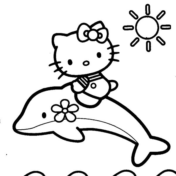 Pin by Unicorn Walmart on Drawings | Hello kitty coloring ...