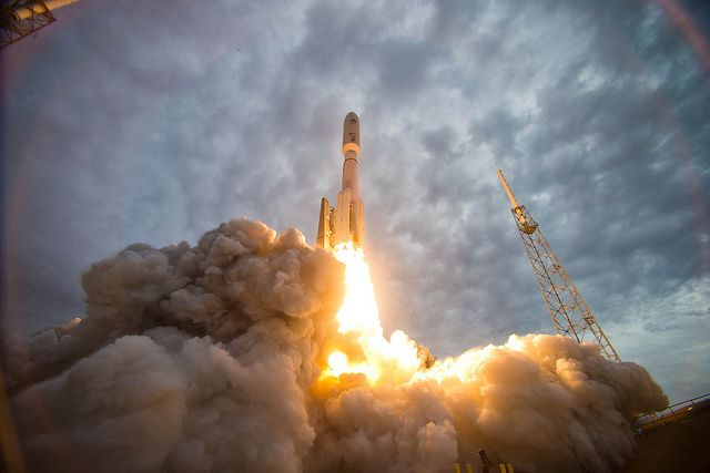 the muos 2 satellite launches from cape canaveral