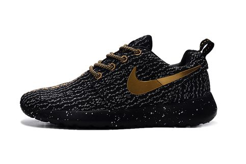 5210c5c98aee ... Custom Roshe Run One X 350 Walking running shoes  HOUR SALE Nike ID  custom roshe run black pink blue ...