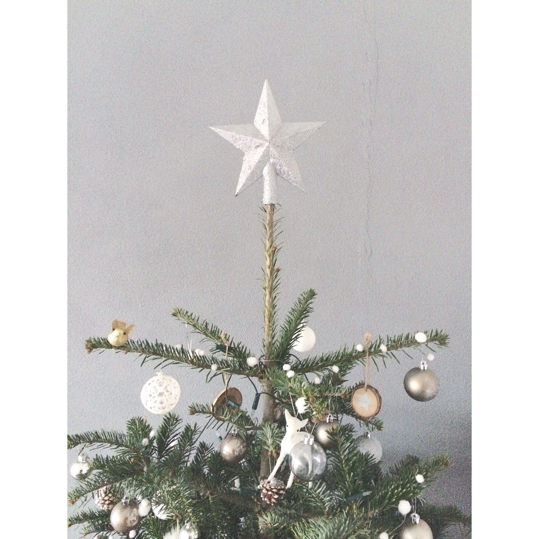 Topje van de kerstboom
