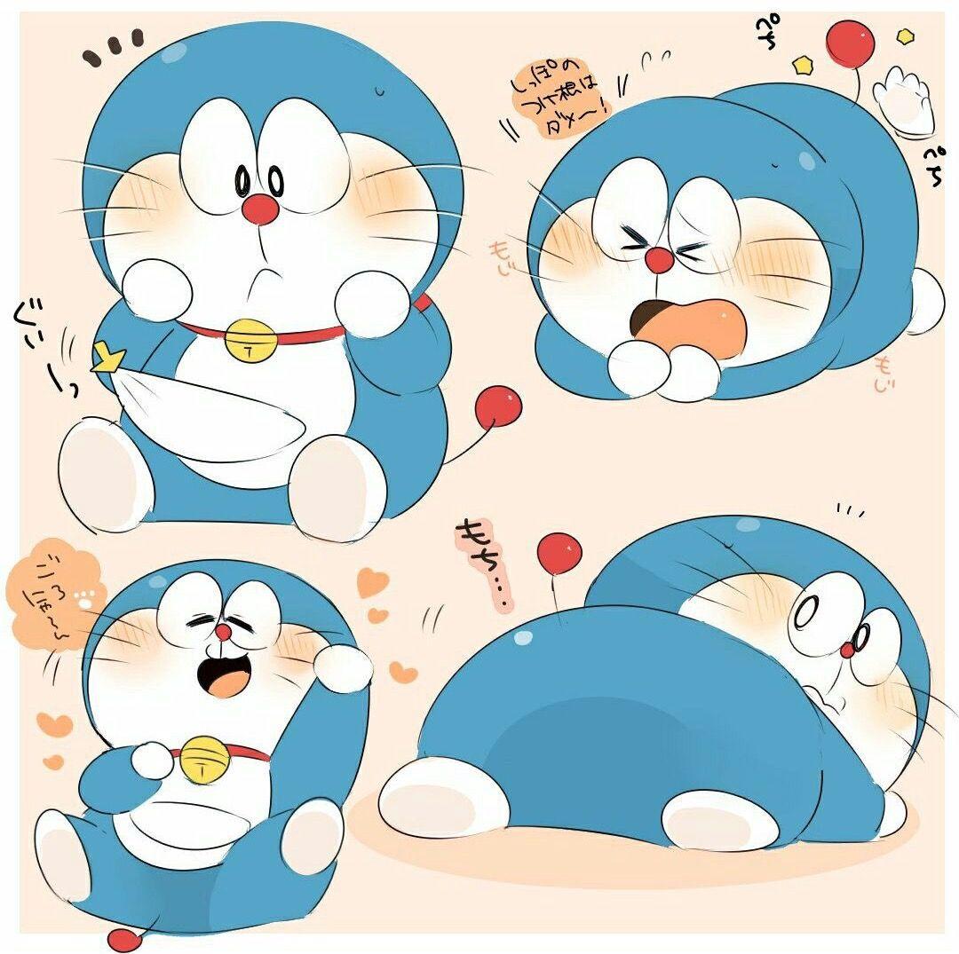 Doraemon Doraemon, Ảnh Hoạt Hình Chibi, Dễ Thương, Nghệ Thuật Anime, Phát