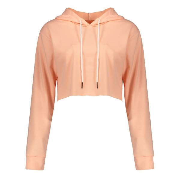 16.47$  Buy now - http://di7pc.justgood.pw/go.php?t=207185909 - Drawstring Crop Hoodie 16.47$