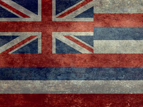 Check Out The State Flag Of Hawaii Vintage Version By Bruce Stanfield On Turningart Buy Art Print Turned Art Cool Artwork