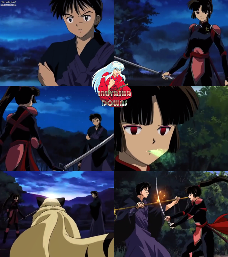 what episode does inuyasha and kagome meet miroku