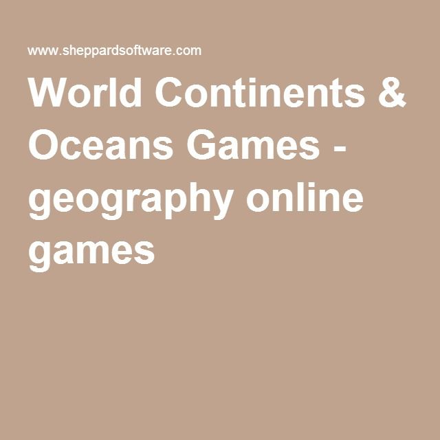 World continents oceans games geography online games social world continents oceans games geography online games gumiabroncs Images