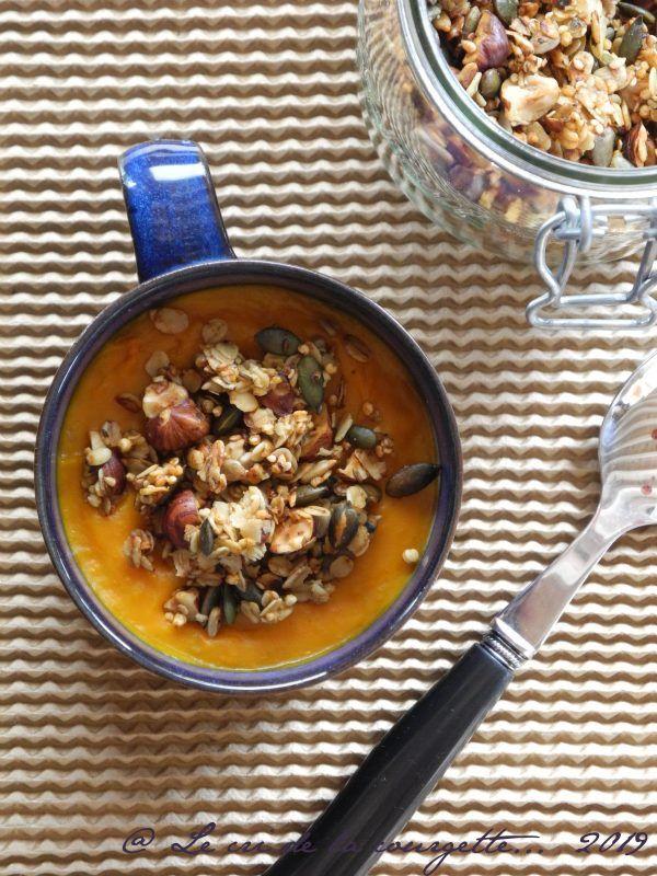 Granola salé Recette bio, Blog recette et Recettes de