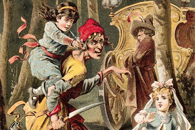 "The evil queen is on the loose -- with a knife in the Hans Christian Anderson story ""The Snow Queen."" The Disney movie ""Frozen"" is based very very loosely on this fairy tale."