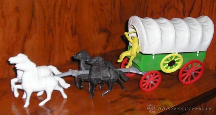 Caravana del oeste reamsa comansi jecsan pech. Se vende lo que se muestra en la foto. Desconozco el fabricante. Muy buen estado. 15,00 €